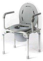 Кресло-туалет инвалидное с санитарным оснащением Титан LY-2006