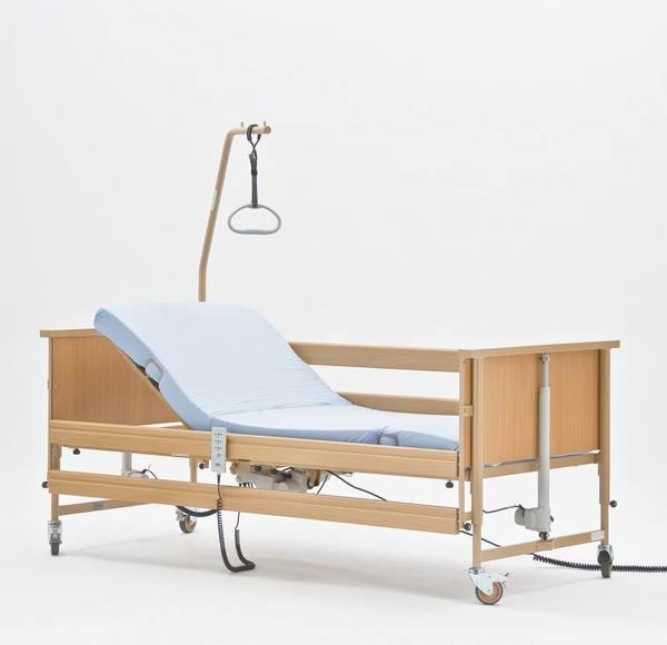 Медицинская 4-х секционная кровать Burmeier Economic II с матрасом