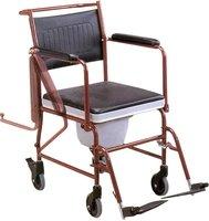 Кресло-каталка инвалидная с санитарным оснащением Армед FS692