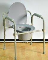 Кресло-туалет с санитарным оснащением Мега-Оптим PR7210A