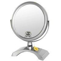 Зеркало настольное косметическое 53257 Silver