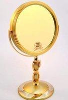 Зеркало настольное косметическое 53274 Gold