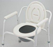 Кресло-туалет инвалидный с санитарным оснащением Армед FS810