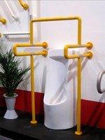 Поручень для санитарно-гигиенических комнат 8807 (диаметр 3,5 см) желтый