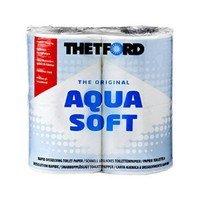 Туалетная бумага Аква Софт (4 рулона)