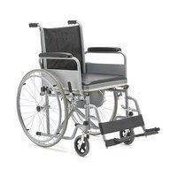 Кресло-коляска с санитарным оснащением для инвалидов Армед FS682
