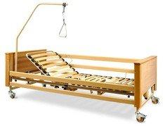 Медицинская кровать Burmeier Arminia II четырехсекционная с матрацем