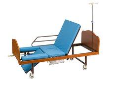 Кровать механическая Медицинофф B-4 (I) с туалетным устройством
