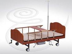 Механическая деревянная кровать с туалетным устройством 06044 B-4(p)