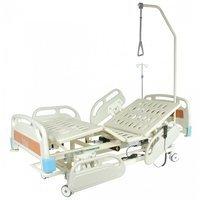 Кровать функциональная с электроприводом Belberg-3-79 с выдвиж.ложементом 5 функций (CPR+аккум)