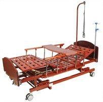 Кровать функциональная c механическим приводом Belberg-31-026H (31-25) Бук, без матраса