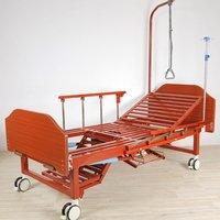 Кровать c механическим приводом Belberg 6-191ПН, 4 функции, туалетное устройство, ЛДСП (матрас, противопролежневый матрас)