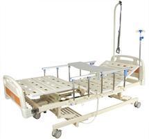 Кровать с электроприводом Belberg 6-66АH, 3 функции с ростоматом+с выдвижным ложем+с аккумулятором ПЛАСТИК (без матраса+столик)