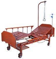 Кровать функциональная с электроприводом Belberg 7-077Н без матраса, дерево