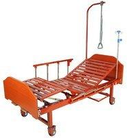 Кровать c механическим приводом на колесах Belberg 8-118H, 2 функц. ЛДСП (без матраса+столик)