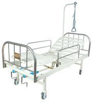 Кровать c механ. приводом на колесах Belberg 8-07 (без матраса)