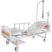 Кровать c механическим приводом Belberg 8-18H, 2 функции (пластик, без матраса+столик)