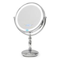 Зеркало косметическое с подсветкой и встроенными часами Belberg BZ-07