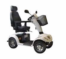 Электрический скутер для инвалидов CARPO 4