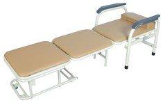Кровать функциональная для медицинского персонала F-5А бежевый-синий