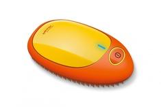 Расческа для выпрямления волос BEURER HT10 orange-yellow ионная щетка для волос