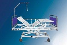 Кровать мед. функц. Belberg 3-02 на колесах, с регул. высоты при помощи гидропривода