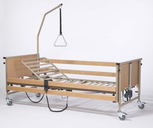 Кровать функциональная 4-х секционная электрическая Vermeiren LUNA Basic (с матрасом)