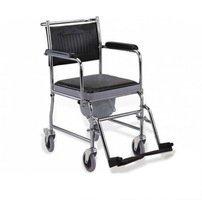 Кресло-каталка инвалидная с санитарным оснащением LY-800-154