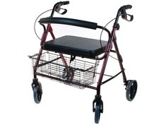 Ходунки-каталка Optimal-Kappa для взрослых на четырех колесах LY-517XL