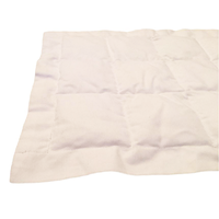 Шарф утяжелённый, наполнитель полимер 20х130 см (1,3 кг) цвет белый