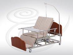 Кровать функциональная механическая Медицинофф B-4 (Y) с туалетным устройством