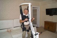 Вертикализатор-тренажер для ходьбы с электроприводом MINIK