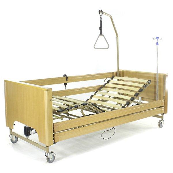 Кровать с электроприводом Belberg 1-194ДЛК, 5 функций ДЕРЕВО